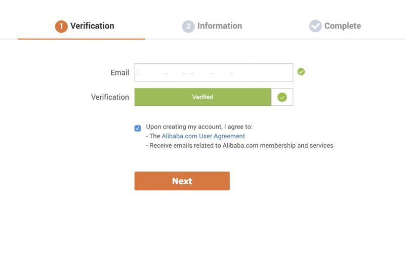Nhập email vào để tiến hành đăng ký tài khoản